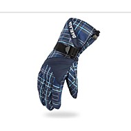 スキー手袋 フルフィンガー 男性用 スポーツグローブ 保温 防風 耐摩耗性 GQY® スキー サイクリング/バイク キャンピング&ハイキング モーターバイク 綿繊維 サイクルグローブ スキーグローブ 冬