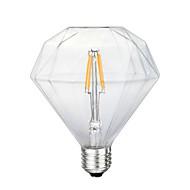 4W E26/E27 LED-glødetrådspærer G125 4 SMD 5730 800 lm Gul Dekorativ Vekselstrøm 220-240 V 1 stk.