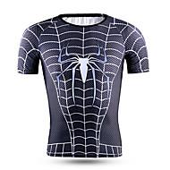 Esportivo® Camisa para Ciclismo Homens Manga Curta Secagem Rápida / Alta Respirabilidade (>15,001g) / Confortável Moto Blusas Terylene