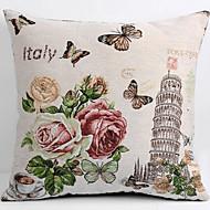 lana jastučnicu / slučaj, tkani tradicionalno / klasični cvjetni kosi toranj značajka