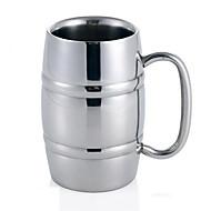 bar ktv særlige rustfrit stål øl cup / rustfrit stål kopper / dobbelt rustfrit stål øl krus