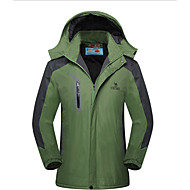 Men's Long Sleeve Breathable / Thermal / Warm / Windproof Bike Tops Tactel Fall/Autumn / Winter Camping