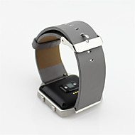 Czarny / Niebieski / Brązowy / Szary Skóra Pasek sportowy Na Fitbit Zegarek 23mm