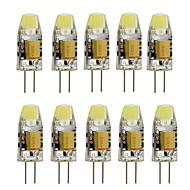 3 G4 LED Bi-pin Işıklar T 1 Yüksek Güçlü LED 260 lm Sıcak Beyaz / Serin Beyaz Dekorotif AC 12 V 10 parça