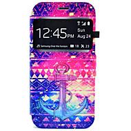 Na Samsung Galaxy S7 Edge Etui na karty / Z podpórką Kılıf Futerał Kılıf Kotwica Twarde Skóra PU Samsung S7 edge / S7