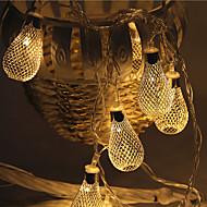 28 주도 5m 빛 방수 플러그 야외 크리스마스 휴가 장식 조명 문자열 조명을 주도 철 밖으로 중공 단조