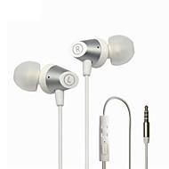 neutral Produkt M6 Hörlurar (pannband)ForMediaspelare/Tablet / Mobiltelefon / DatorWithmikrofon / DJ / Volymkontroll / Spel / Sport /