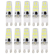 10PCS G9 16LED SMD5733 AC220V 900-1000LM Warm White/White Decorative /Waterproof LED Bi-pin Lights