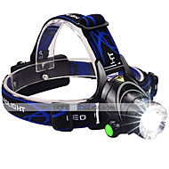 Lights LED Flashlights/Torch / Headlamps LED 3000 lumens Lumens 3 Mode Cree XM-L2 18650Adjustable Focus / Waterproof / Rechargeable /