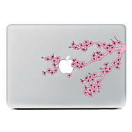 1 stk Ridsnings-Sikker Blomst Transparent plastik Klistermærke Mønster ForMacBook Pro 15'' with Retina MacBook Pro 15 '' MacBook Pro 13''