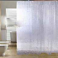 Contemporânea PEVA 1.8*2M - Alta qualidade Cortinas de Banheiro