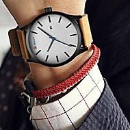 CURREN Herren Sportuhr Kleideruhr Modeuhr Armbanduhr Quartz Japanischer Quartz Kalender Leder Band Vintage Cool Bequem LuxuriösSchwarz