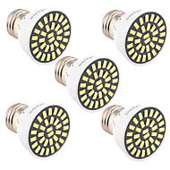 7W E26/E27 Lâmpadas de Foco de LED T 32 SMD 5733 500-700 lm Branco Quente / Branco Frio Decorativa V 1 pç