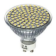 5W GU10 GX5.3 Spot LED MR16 80 SMD 2835 650lm lm Blanc Chaud Blanc Froid Décorative AC 100-240 V 1 pièce