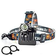 Lights Headlamps / Bike Lights / Front Bike Light LED 2500 Lumens 1 Mode Cree XM-L L2 18650 Super Light / Compact Size / Small Size
