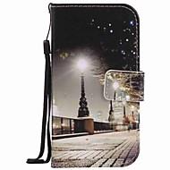 Για το Samsung Galaxy s7 άκρη s7 περίπτωση κάλυψη πόλη τοπίο ζωγραφική pu περίπτωση τηλέφωνο s5 s4 s3