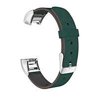 Replacement Genuine Leather Watchband Strap Bracelet for Fitbit charge 2 Tracker