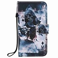 Til samsung galaxy j7 j5 (2016) case cover magiker maleri pu telefon sag j5 j3 g360 g530