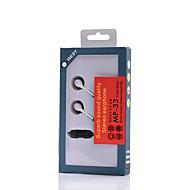 Neutral Tuote MP-33 Kuulokkeet (panta)ForMedia player/ tabletti / Matkapuhelin / TietokoneWithMikrofonilla / DJ / Äänenvoimakkuuden säätö