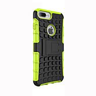 Pour Coque iPhone 5 Antichoc Avec Support Coque Coque Arrière Coque Armure Flexible Silicone pour AppleiPhone 7 Plus iPhone 7 iPhone 6s