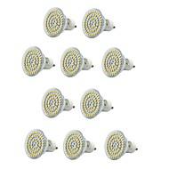 6W E14 / GU10 / E26/E27 LED-kohdevalaisimet MR16 60 SMD 3528 550-600 lm Lämmin valkoinen / Kylmä valkoinen Koristeltu / Vedenkestävä V10