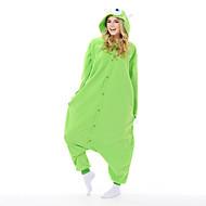 Kigurumi Pijama Yeni Cosplay® / Monster Strenç Dansçı/Tulum Halloween Hayvan Sleepwear Yeşil Kırk Yama Polar Kumaş Kigurumi UnisexCadılar
