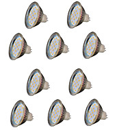10pcs mr16 18 smd 2835 2w 200-250lm dc12v ζεστό λευκό led spotlight