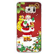 Til Samsung Galaxy s7 s7 kant santa claus tpu blødt omslag s6 kant plus