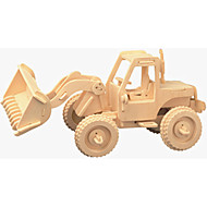 Forklift  Puzzles Wooden Puzzles Building Blocks DIY Toys Forklift 1 Wood Ivory Puzzle Toy