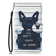 Για το Samsung Galaxy S7 άκρο s7 περίπτωση σκύλος pu δέρμα πορτοφόλι s5 s6 s7