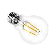 1 Adet 4w a60 E27 kapalı led aydınlatma 110 / 240v flamanlı ampul açık çim edison ampulleri led