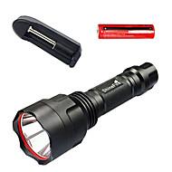 Belysning LED Lommelygter LED Other Lumens 1 Tilstand LED 18650 Justerbart Fokus / Vanntett / Glidesikkert Greb / Nødsituation