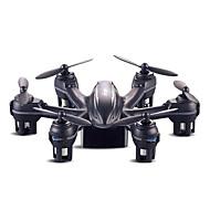 Drone MJX X901 4 Canaux 6 Axes 2.4G Quadrirotor RC Eclairage LED / Vol Rotatif De 360 Degrés / Avertissement Batterie FaibleTélécommande