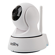 VESKYS T2 720P 1.0MP Wi-Fi Security IP Camera(Day Night / Motion Detection / Remote Access / IR-cut / Plug and play)