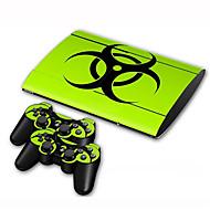 B-Skin® copertura adesiva protettiva adesiva PS3 Slim 4000 console pelle controllore pelle