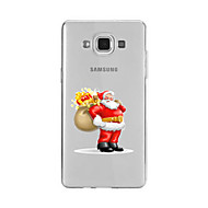 Voor Patroon hoesje Achterkantje hoesje Kerstmis Zacht TPU voor Samsung A9(2016) / A7(2016) / A5(2016) / A3(2016) / A9 / A8 / A7 / A5 / A3