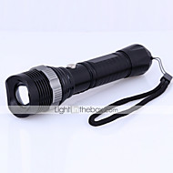 Torce LED LED 4.0 Modo 1200 Lumens Impermeabili / Ricaricabile / Resistente agli urti /  Strike Bezel / Tattico / Emergenza Cree XM-L T6