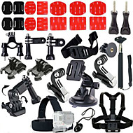 Accessories For GoPro Telescopic Pole / Chest Harness / Front Mounting / Monopod / Tripod / Accessory KitWaterproof / All in One /