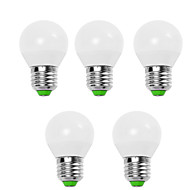 5W E14 / E26/E27 LED Globe Bulbs G45 12 SMD 2835 560 lm Warm White / Cool White Decorative V 5 pcs