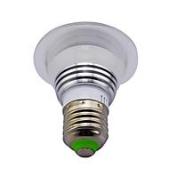 3W E14 / GU10 / B22 / E26/E27 Spot LED MR16 1 LED Haute Puissance 280 lm RVB Gradable / Commandée à Distance / Décorative V 1 pièce