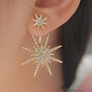 Stud Earrings Fashion Galaxy Cubic Zirconia Rhinestone Star Gold Silver Jewelry For Wedding Party Birthday Daily Casual 1pc