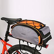 Rosewheel 自転車用バッグ 13L自転車用リアバッグ/自転車用サイドバッグ ショルダーバッグ 自転車用リアバッグ 防湿 耐衝撃性 耐久性 自転車用バッグ PUレザー 600Dポリエステル サイクリングバッグ