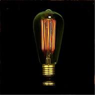 e27 ac220-240v 40W izzók világítás antik Edison halogén izzók