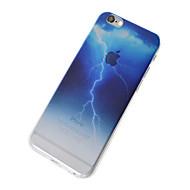 용 반투명 케이스 뒷면 커버 케이스 풍경 소프트 TPU 용 Apple 아이폰 7 플러스 / 아이폰 (7) / iPhone 6s Plus/6 Plus / iPhone 6s/6 / iPhone SE/5s/5