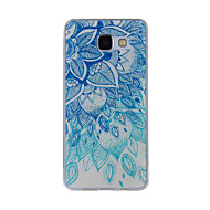 For Mønster Etui Bagcover Etui blondedesign Blødt TPU for Samsung A8(2016) / A5(2016) / A3(2016) / A8 / A7 / A5 / A3
