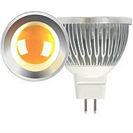 5W LEDスポットライト MR16 1 COB 600 lm 温白色 / クールホワイト DC 12 V 2個