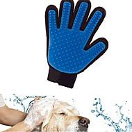 Gato / Cachorro Limpeza Banhos Animais de Estimação Artigos para Banho & Tosa Prova-de-Água / Respirável / Casual Azul Silicone