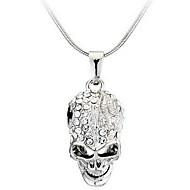 Férfi Női Nyaklánc medálok Skull shape Ötvözet Divat Személyre szabott Ékszerek Kompatibilitás Hétköznapi
