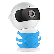 sannce® 960p HD hälytyksen p2p piilotettu robotti IP-kamera Wireless WiFi kaksisuuntainen ääni itkuhälytin