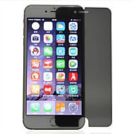 2.5d zxd 0,3 milímetros 9h película protetora peeping tela anti privacidade para iphone 7 mais com pacote de varejo